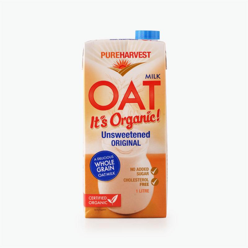 Pureharvest Unsweetened Oat Milk 1L