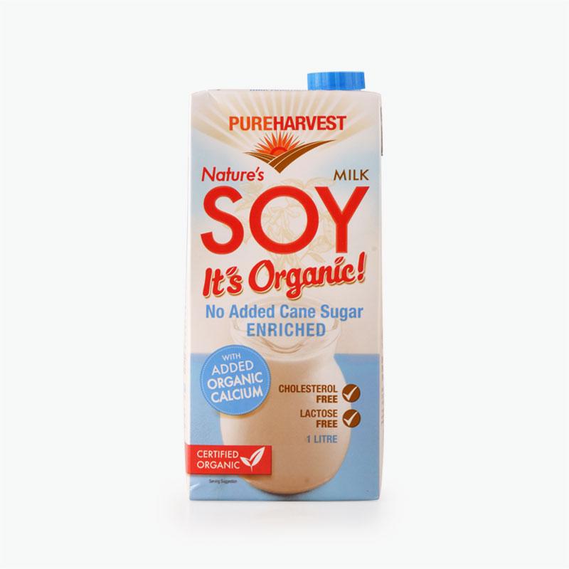 Pureharvest, Organic Soy Milk (with Calcium) 1L