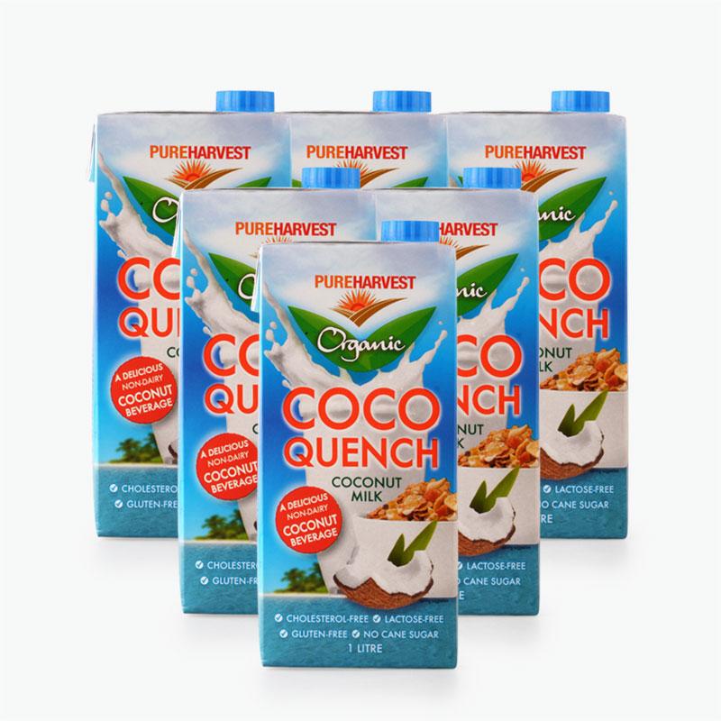 Pureharvest Coco Quench Coconut Milk 1L x6