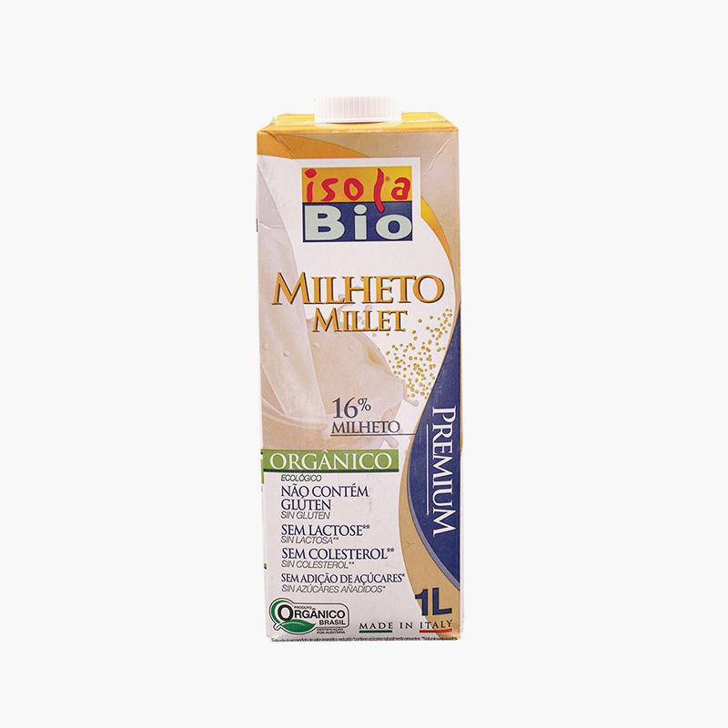 Isola Bio Organic Gluten Free Millet Milk 1L