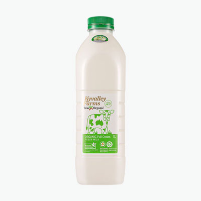 Kyvalley Farms Organic Full Cream Milk 1L