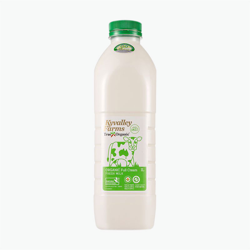 Kyvalley Farms Organic Full Cream Milk 1L
