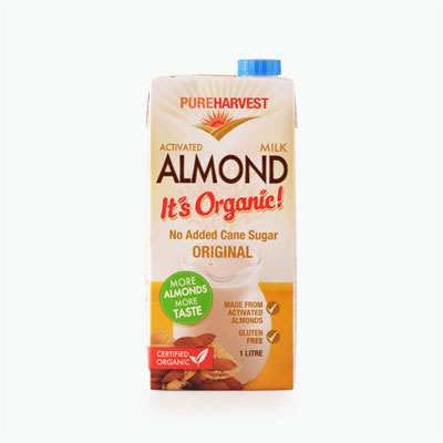 Pureharvest Organic Activated Almond Milk 1L