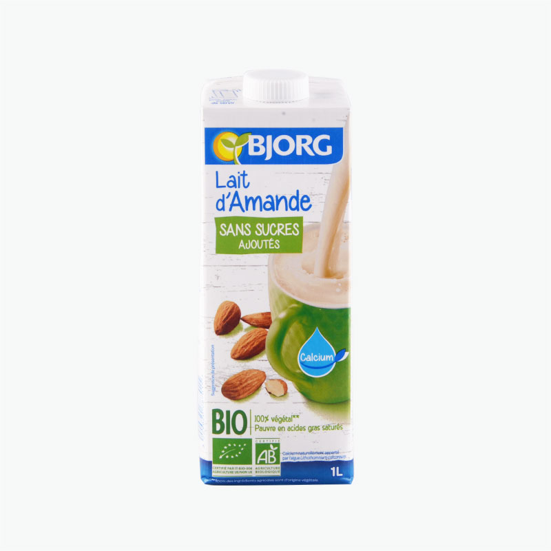 Bjorg Unsweetened Almond Drink 1L