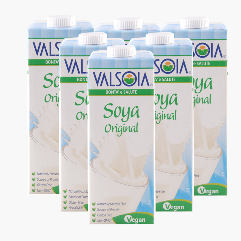 Valsoia, Soy Milk 1L x6