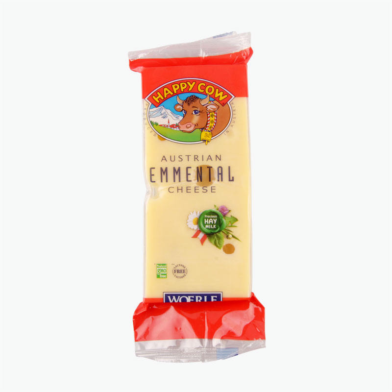 Happy Cow Emmental Cheese  250g