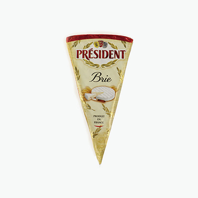 President, Brie Wedge 200g