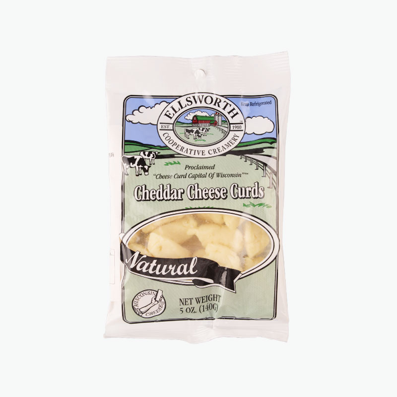 Ellsworth, Natural Cheddar Cheese Curds 140g