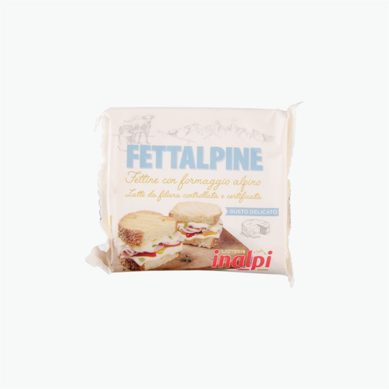 Latterie Inalpi Fettalpine Classic Cheese Slices 150g