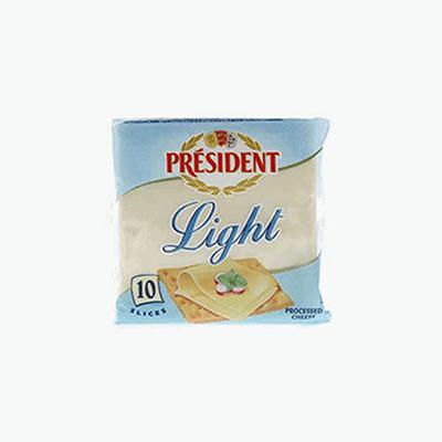 President 10 Light Cheese Slices 200g