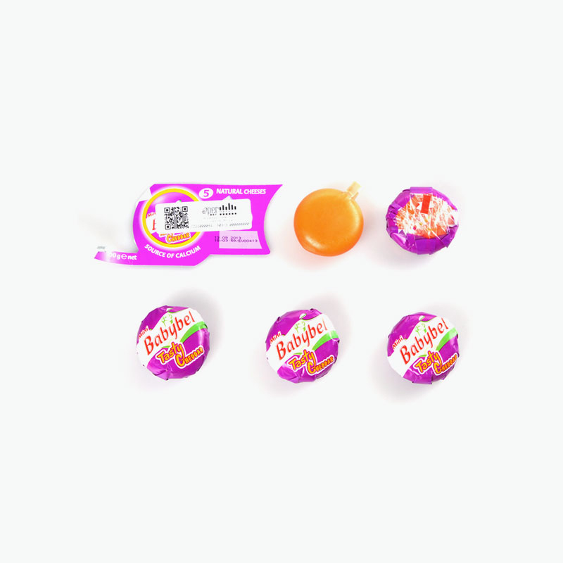 Babybel 5 Mini Cheddar Cheeses 100g