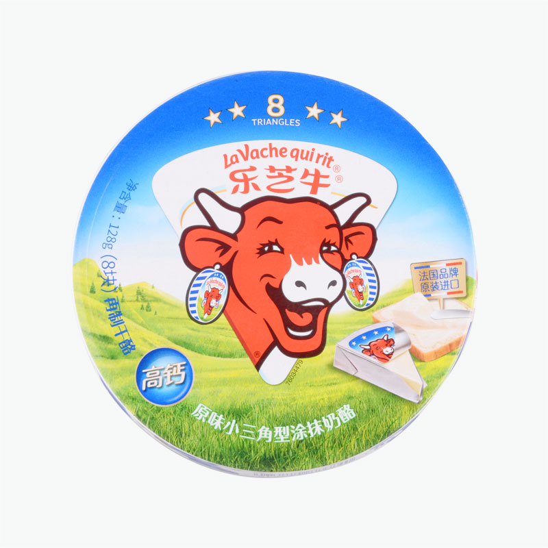 The Laughing Cow, Original Cheese Triangles 128g