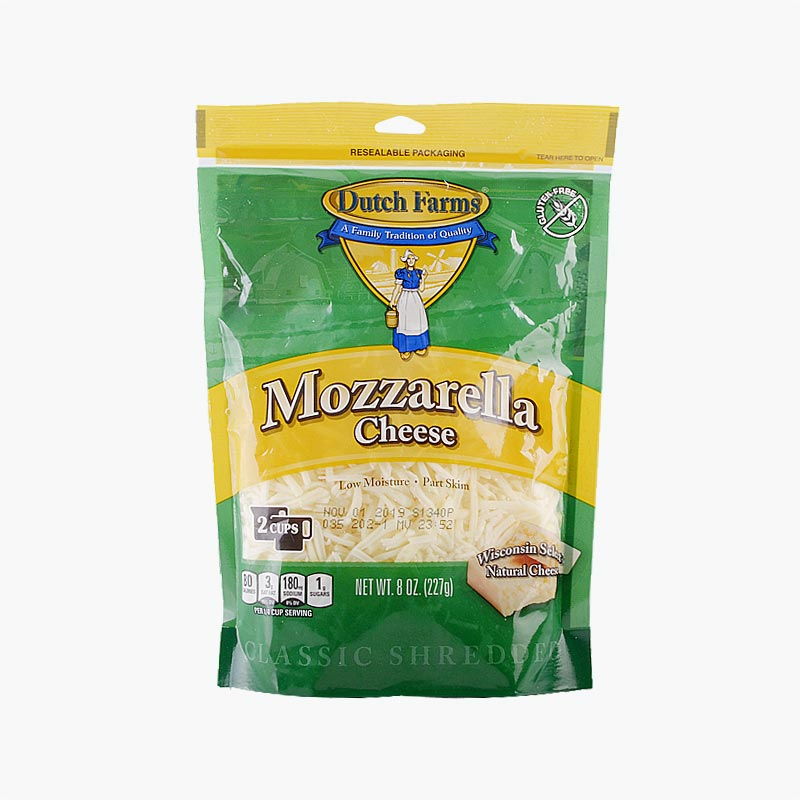 Dutch Farms Shredded Mozzarella Cheese 227g