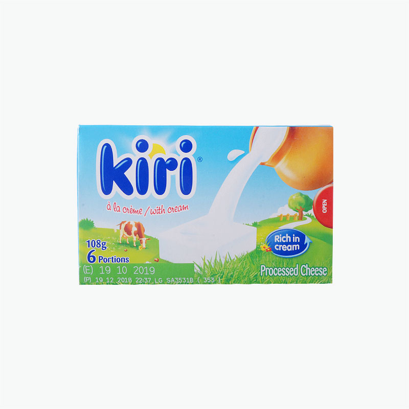 Kiri 6 Mini Cream Cheese Cubes 108g