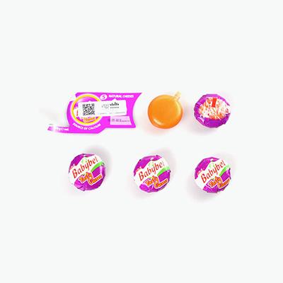 Babybel 5 Mini Cheddar Cheeses 100g