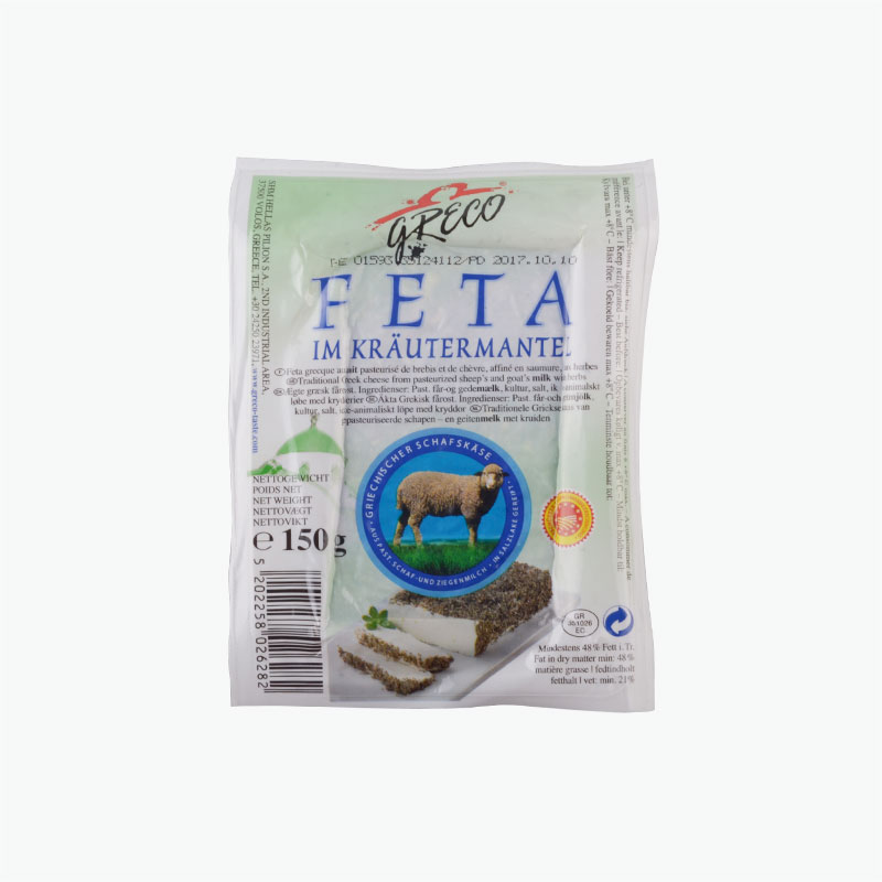 Greco Feta Cheese with Herbs 150g