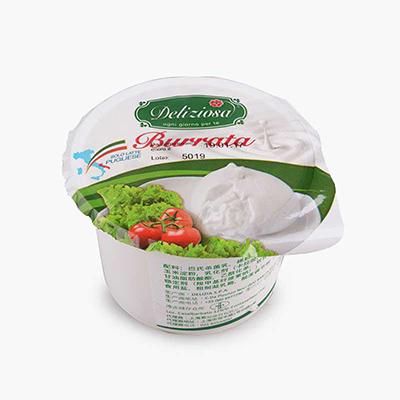 Deliziosa Burrata Mozzarella and Cream 100g