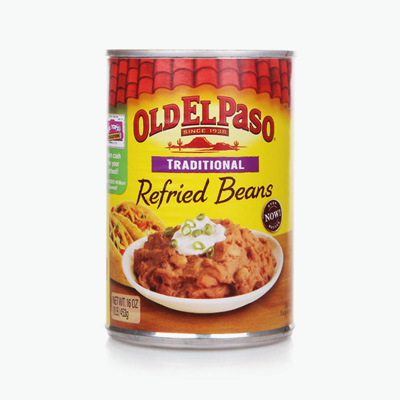 Old El Paso Traditional Refried Beans 453g