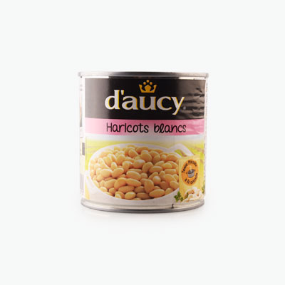 Daucy, White Beans 400g