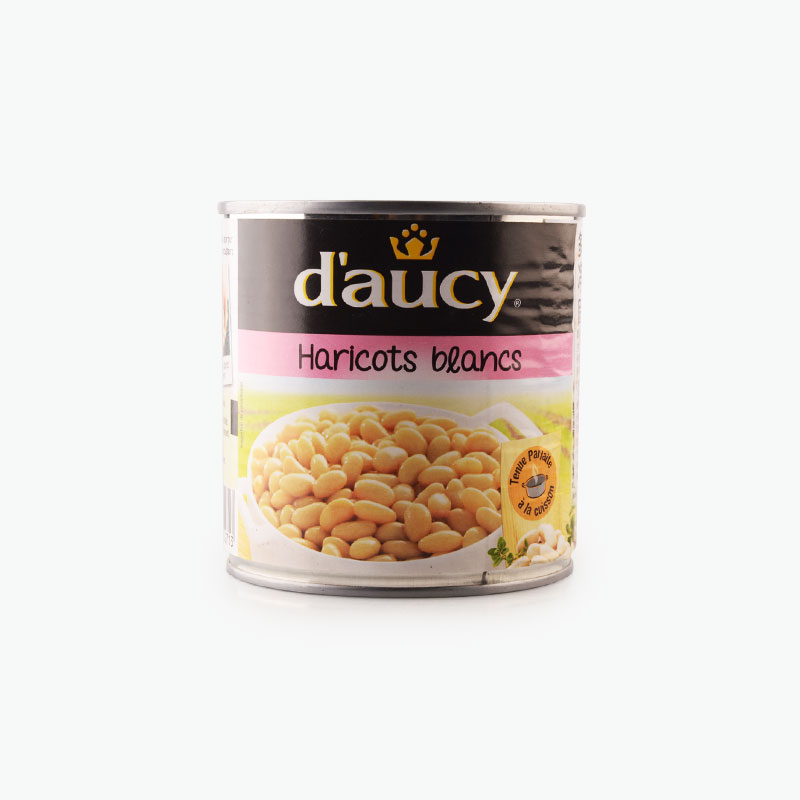 Daucy, White Beans 400g