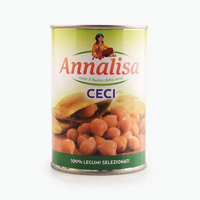Annalisa, Chickpeas (Garbanzo) 400g