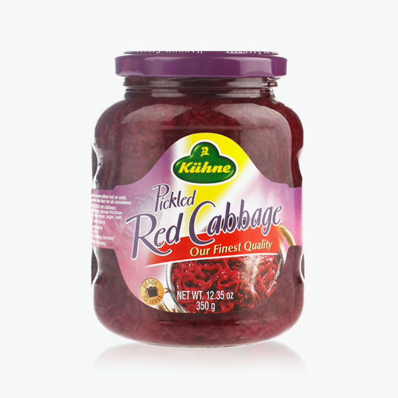 Kuhne, Pickled Red Cabbage 350g