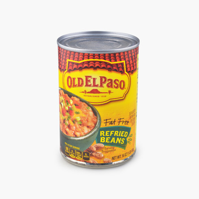 Old El Paso, Fat Free Refried Beans 453g