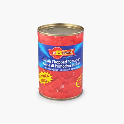La Belinda, Italian Chopped Tomatoes 400g
