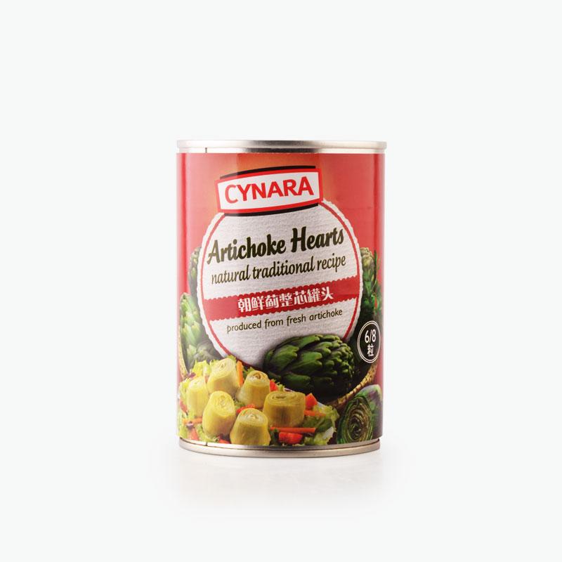 Cynara, Traditional Artichoke Hearts 390g