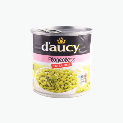 Daucy, Extra Fine Flageolets Beans 400g