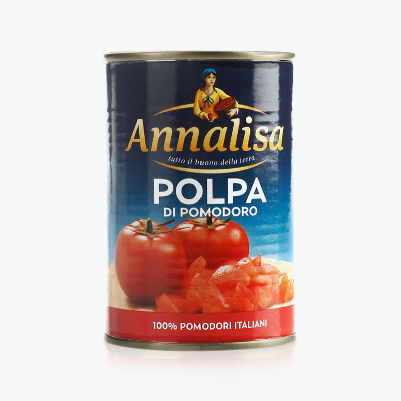 Annalisa, Chopped Tomatoes 400g