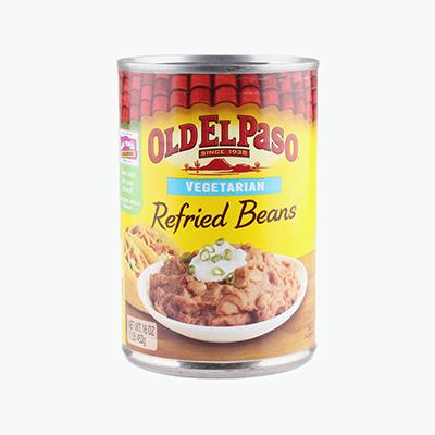Old El Paso, Refried Beans (Vegetarian) 453g
