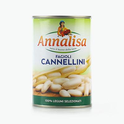 Annalisa, White Beans (Cannellini) 400g