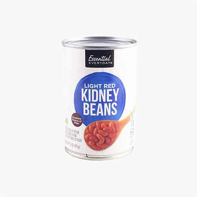 Essential Everyday, Light Red Kidney Beans 425g