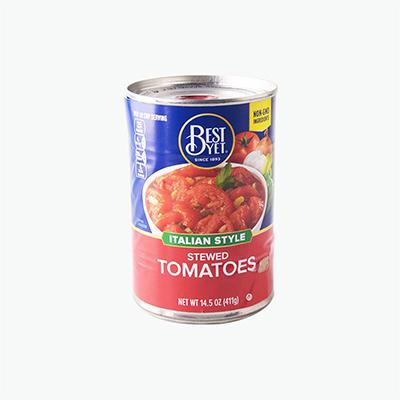 Best Yet Italian Stew Tomatoes 411g