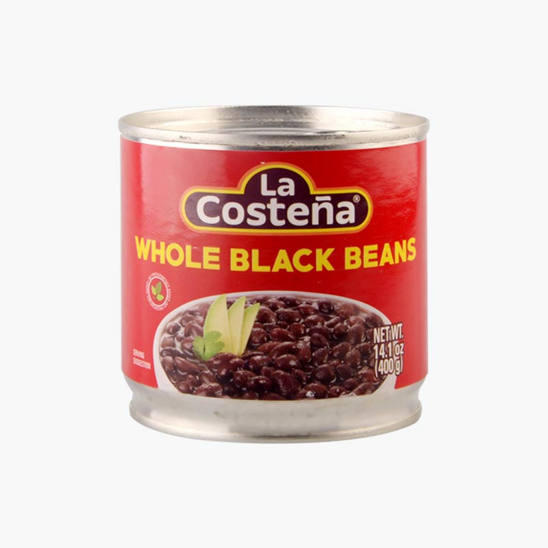 La Costena, Whole Black Beans 400g