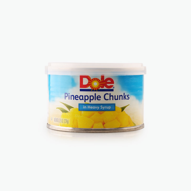 Dole, Canned Pineapple in Heavy Syrup 234g