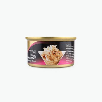 Sheba, Tuna Whitemeat with Shredded Crab 85g