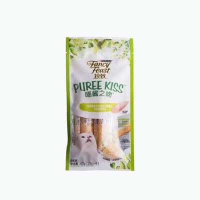 Fancy Feast Puree Kiss Chicken Jelly x4 10g
