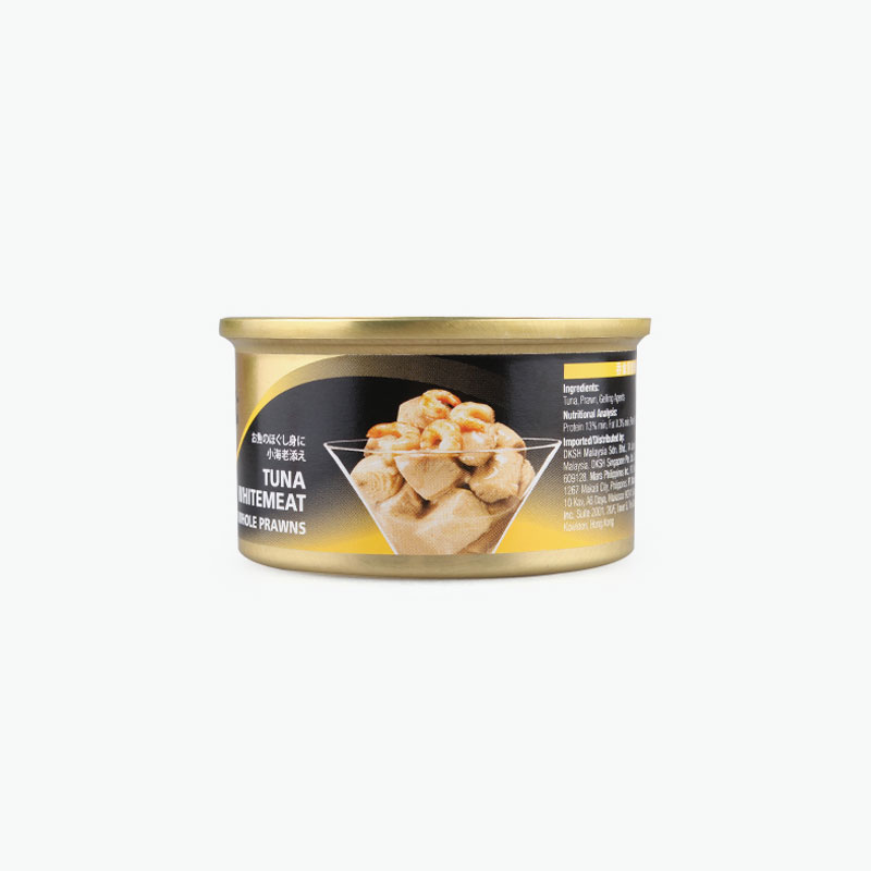 Sheba, Tuna Whitemeat with Whole Prawns 85g