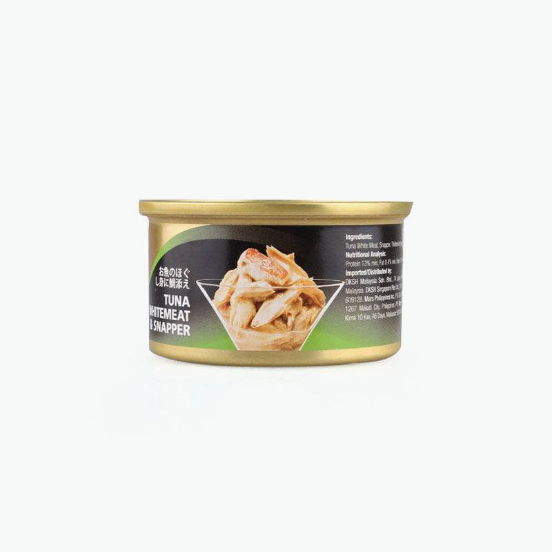 Sheba, Tuna Whitemeat & Snapper 85g