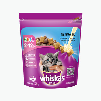Whiskas, 'Seafood Selections' Junior (Seafood) 1.2kg