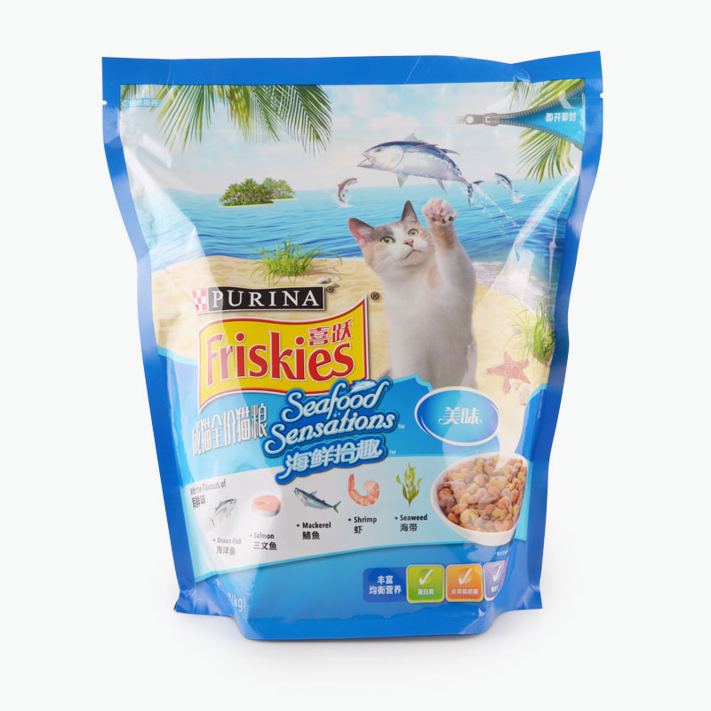 Purina Friskies Seafood Sensation Cat Food for Adult Breed 1.3kg