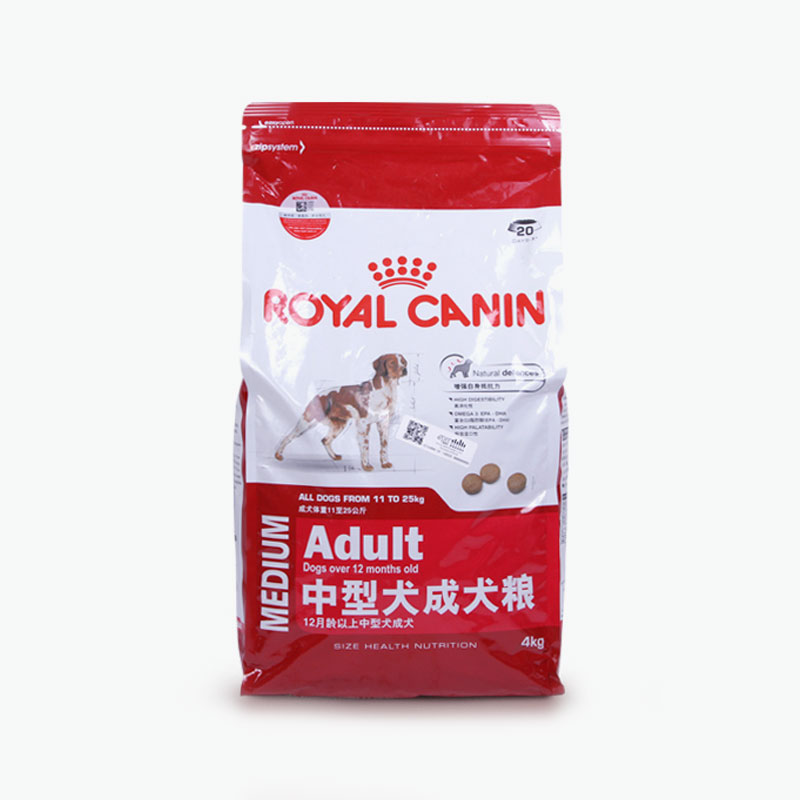 royal canin adult medium breeds 12m 4kg. Black Bedroom Furniture Sets. Home Design Ideas