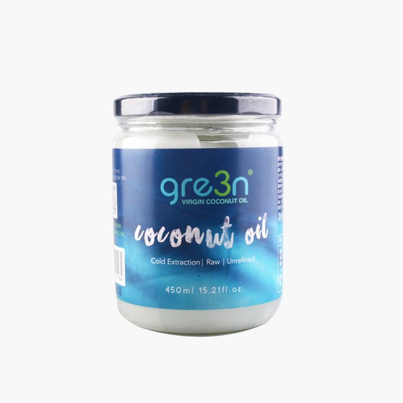 gre3n, Virgin Coconut Oil 450ml