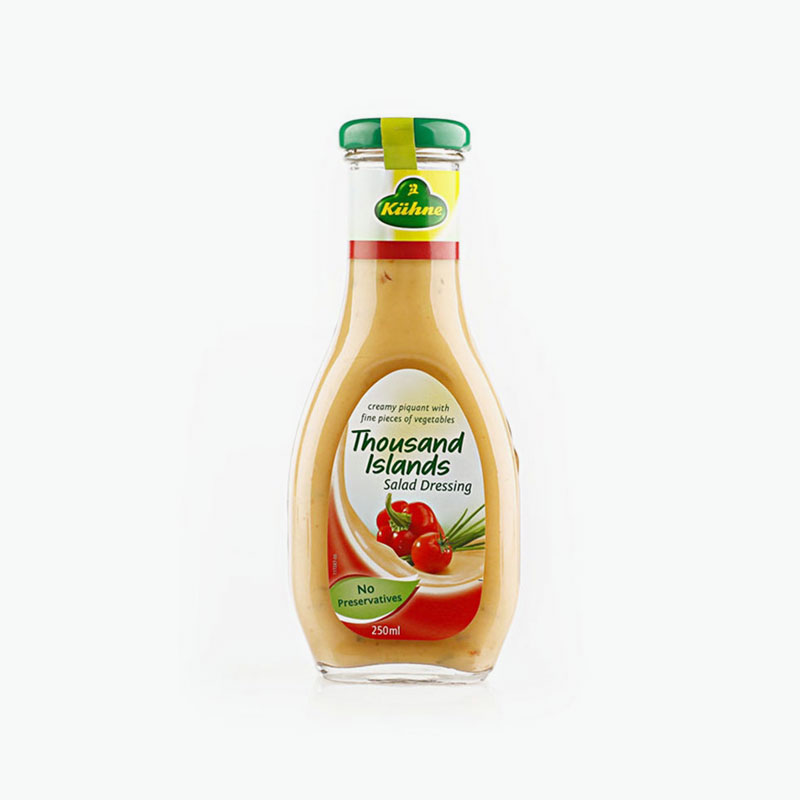 Kuhne, Thousand Island Salad Dressing 250ml
