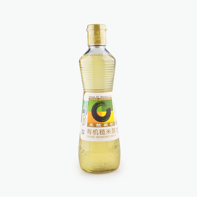 HONA Organic, Brown Rice Vinegar 500ml