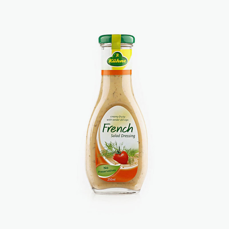 Kuhne, French Salad Dressing 250ml