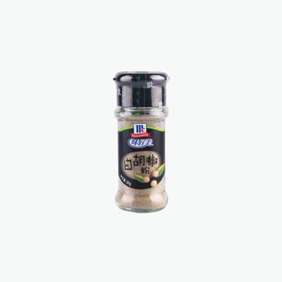 McCormick, Ground White Pepper 30g