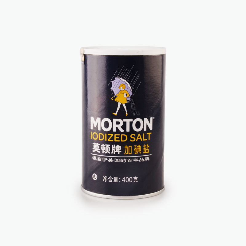 Morton, Iodized Salt 400g